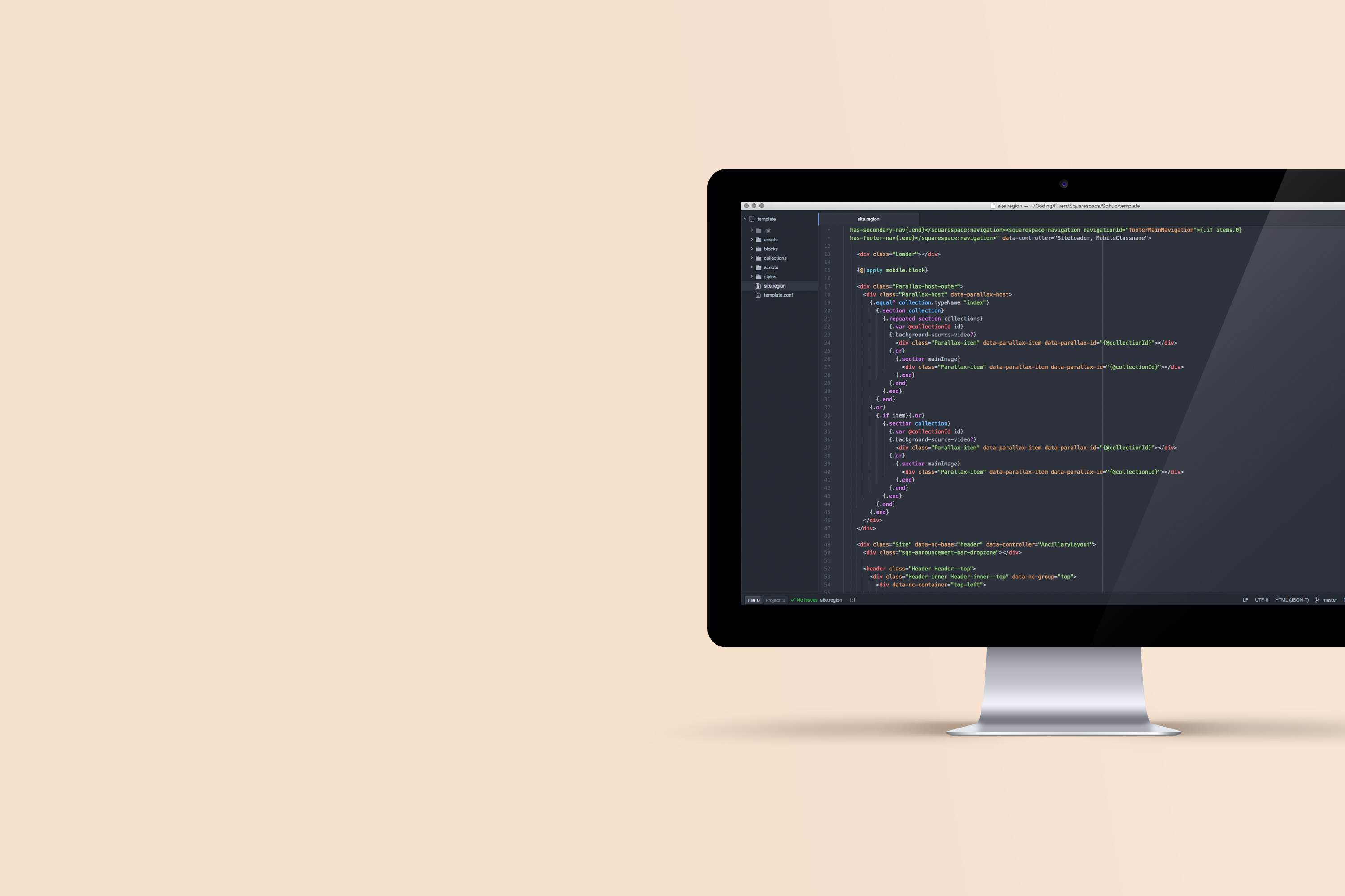Squarespace Plugins Abouts Us coding background